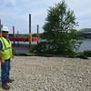 newburyport: Newburyport's Mark Chaisson at the Whittier Bridge. Jim Vaiknoras/staff photo