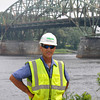 newburyport: Newburyport's Mark Chaisson at the Whittier Bridge. Jim Vaiknoras/staff photo