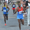 newburyport: Aschalew Mekete wins with Mengistu Nebsi and Tariku Bokan just behind in the Yankee Homecoming 10 mile race Tuesday night. Jim Vaiknoras/staff photo