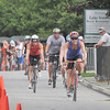 Amesbury: Cyclist head out during the Dam Triathlon Saturday morning in Amesbury. Jim Vaiknoras/staff photo