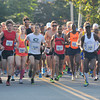 newburyport: Runner take off in the Yankee Homecoming 10 mile race Tuesday night. Jim Vaiknoras/staff photo