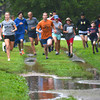 Newburyport: Runners take off in the Maudslay Cross-Country Series Thursday night. Jim Vaiknoras/staff photo