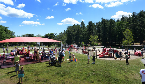 BRYAN EATON/Staff photo. Sunny skies and dry air made for a wonderful Kids Day in the Park.