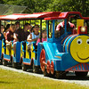 BRYAN EATON/Staff photo. The train rides at Kids Day in the Park is always a popular attraction.