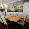 BRYAN EATON/Staff photo. The dining room table was made by Fox Brothers in Newburyport.