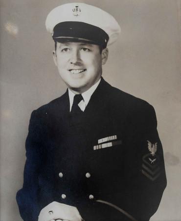 Seabrook: Raymond Lavin in the US Navy in World War II. Bryan Eaton/Staff Photo