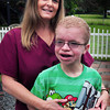 Salisbury: Raileen Eaton, and her son Nicholas who has Costello's Syndrome an extremely rare disease. Next Friday they are holding a fundraiser at the Barn Pub in Amesbury for the Costello Syndrome Family Network. Bryan Eaton/Staff Photo