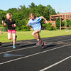 Newburyport: Qualifying athletes in the Hershey Track series practiced yesterday. Bryan Eaton/Staff Photo