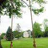 Newbury: Newbury selectman say they want this swing on the Upper Green taken down, which was put up without permission. Bryan Eaton/Staff Photo