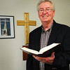 "Seabrook: Dr. Rev. William ""Bill"" Beddie is retiring from the Trinity United Church in Seabrook. Bryan Eaton/Staff Photo"