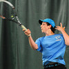 BRYAN EATON/ Staff Photo. Second singles action with Triton's John DiDonato.