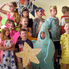 "BRYAN EATON/ Staff Photo. Some students dresses as animals in the Amesbury Elementary School play ""Biome, Sweet, Biome."" Second-graders have been learning about different biomes in the world and put on a production for the whole school to see."