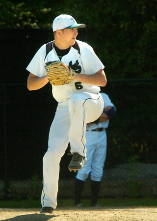 BRYAN EATON/ Staff Photo. Pentucket pitcher Ryan Kuchar.