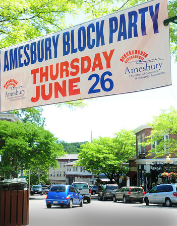 BRYAN EATON/ Staff Photo. Amesbury Days kicks off on Thursday, events including the Senior Citizen Cookout and the Block Party.