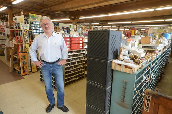 JIM VAIKNORAS/Staff photo Greg Jardis at Amesbury Industrial Supply