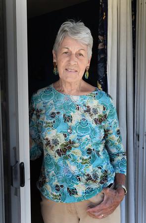 BRYAN EATON/Staff Photo. Amesbury Layperson of the Year Louise McRae.