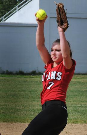 BRYAN EATON/Staff Photo. Amesbury pitcher Hayley Catania.