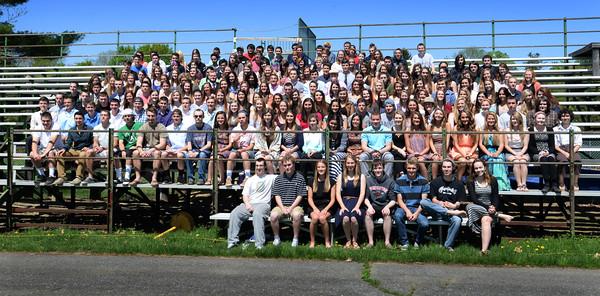 BRYAN EATON/Staff Photo. Pentucket High School class of 2015.