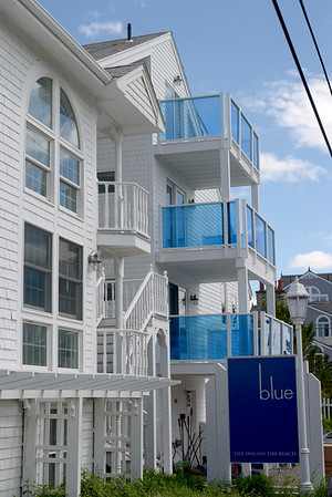 JIM VAIKNORAS/Staff photo Blu, The Inn on the Beach, on Plum Island under new owner ship is being renovated.