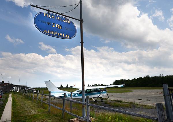BRYAN EATON/Staff Photo. Plum Island Airfield.