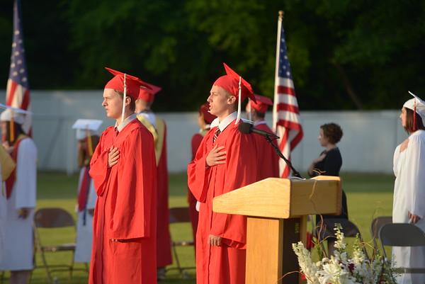 JIM VAIKNORAS/Staff photo Amesbury high graduation