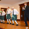 "Newburyport: The ""Costello Family Dancers"" Gary Calderwood, Zach Longley, Mark Wright, Charlie Cullen , and Chuck Wither, perform a history of dance at the 12th annual Link house St Patrick's Day luncheon at the Mason's in Newburyport. Jim Vaiknoras/staff photo"