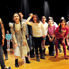 Amesbury: The cast of the Music Man rehearses at Amesbury Middle School. Bryan Eaton/Staff Photo