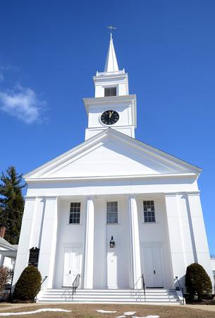 Groveland. Groveland Congeragational Church. Jim Vaiknoras/staff photo