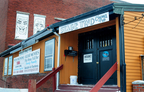 Amesbury: Stage Two Cinema Pub in downtown Amesbury. Bryan Eaton/Staff Photo