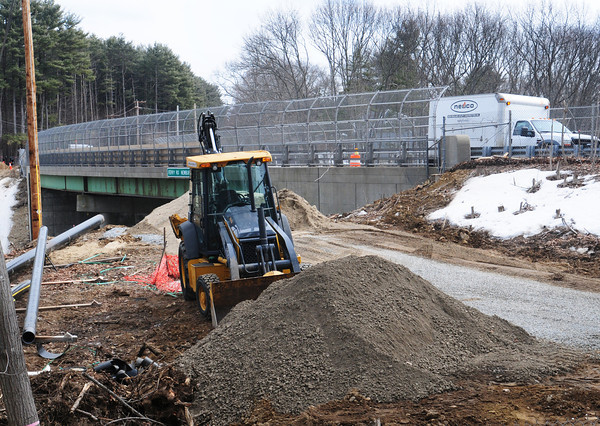 Newburyport: The Ferry Road bridge over Interstate 95 will be replaced as part of the new Whittier Bridge construction. Bryan Eaton/Staff Photo