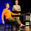 "Newburyport: Michael Torrent and Rachel Sacks in ""The Philadelphian."" Bryan Eaton/Staff Photo"