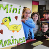 Amesbury: Winning team for Destination Imagination at Amesbury Elementary School, from left, Linda Bullis, 9, Lucy Dore, 9, Norah Ryan, 9, Eli Blouin, seated, 9, Aidan Whittier, 8, and Aniyah Booth, 8. Bryan Eaton/Staff Photo