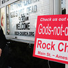 "Amesbury: Site pastor of Amesbury's United Methodist Church Jon Howard has arranged for the showing of the movie ""Gods-not-dead"" to be shown at a Salisbury movie theater. Bryan Eaton/Staff Photo"