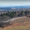 Amesbury: The snow is almost gone from this apple orchard at Cider Hill Farm in Amesbury in view from the top of Powow Hill, but more could be on the way overnight. Mount Agamenticus in Maine can be seen to the upper left. Bryan Eaton/Staff Photo