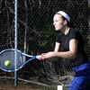 BRYAN EATON/Staff Photo. Newburyport High tennis player Emma Filipancic.
