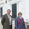 JIM VAIKNORAS/Staff photo  New Pasters  Charlotte Hundee and Vin Davis at East Parish Church in Salisbury