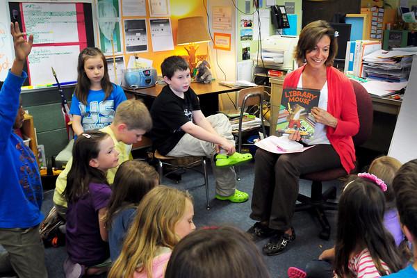 Amesbury: Amesbury Elementary School teacher Liz Morris was chosen Amesbury Rotary's 31st Educator of the Year. Bryan Eaton/Staff Photo