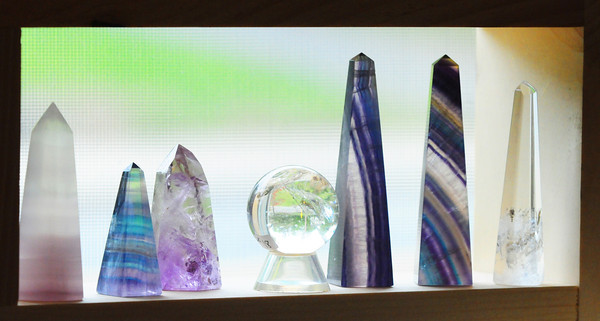Merrimac: Various crystals will be at the Newburyport Healing Arts and Crafts Market. Bryan Eaton/Staff Photo