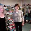 Newburyport: Martha Arias, left, and Betty Leary of Community Service, Inc. in Newburyport. Bryan Eaton/Staff Photo