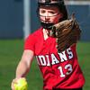 BRYAN EATON/ Staff Photo. Amesbury pitcher Samantha Stone.