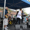 JIM VAIKNORAS/Staff photo NoCrossing performs at the annual Spring Festival in Market Square in Newburyport Monday.