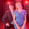 JIM VAIKNORAS/Staff photo Kyle McIntire as Billy Flynn and AnnieKate Gross as Roxie in the Newburyport high production of Chicago.
