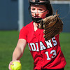 BRYAN EATON/ Staff Photo. Amesbury pitcher Samantha Stone.