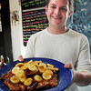 BRYAN EATON/ Staff Photo. Mad Martha's Drew Bowie with Caramelized Banana French Toast.
