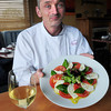 BRYAN EATON/ Staff Photo. Francis Broadbery of the Plum Island Grille with his Caprese salad.