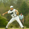 BRYAN EATON/ Staff Photo. Pentucket pitcher Ryan Kuchar winds up.