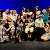 BRYAN EATON/ Staff Photo. The cast of Mother Out Loud in rehearsal at the Firehouse Center for the Performing Arts.