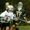 BRYAN EATON/ Staff Photo. Pentucket's Brendan Sullivan looks for an open teammate.