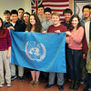 BRYAN EATON/ Staff Photo. The Newburyport High Model United Nations team will be participating in the Global Classrooms International in New York City.