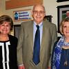 BRYAN EATON/ Staff Photo. Amesbury Education Foundation Inc. Hall of Honor inductees from left, Maria Ferrandini, Peter Randall and Carol Bartlett.